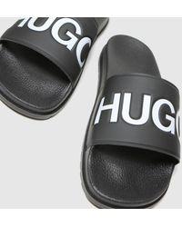 BOSS by Hugo Boss Timeout Slide Sandals - Black
