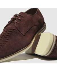 H by Hudson Chatra Shoes - Brown