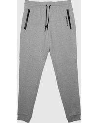 Converse Slim Fit Panelled Jogger In - Grey