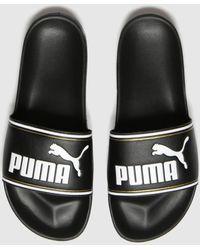 PUMA Leadcat Ftr Sandals - Black