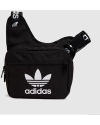 adidas Black & White Sling Corss Body Bag
