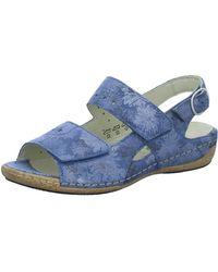 Waldläufer Klassische Sandalen - Blau