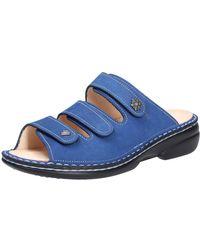 Finn Comfort Pantoletten - Blau