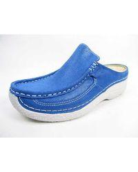 Wolky Clogs - Blau