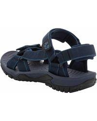 Jack Wolfskin Outdoor Sandalen - Blau