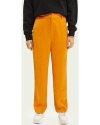 Scotch & Soda Mid Rise Pantalon - Oranje