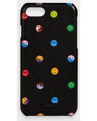 Scotch & Soda Hoesje Voor Iphone 8 Met Print - Zwart
