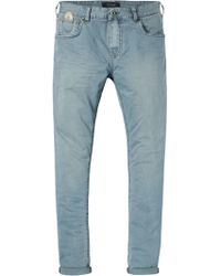 Scotch & Soda - Skim - Garment Dyed Denims Skinny Fit - Lyst