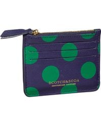Scotch & Soda Leather Credit Card Holder - Multicolor