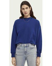 Scotch & Soda Sweater Met Ronde Hals - Blauw