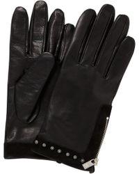 Scotch & Soda - Leather Gloves - Lyst