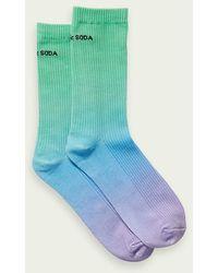 Scotch & Soda Sportieve Dip-dye Sokken - Blauw