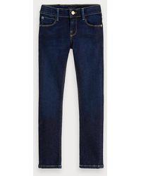 Scotch & Soda Extra Super Skinny Fit Jeans - The Blauw Art