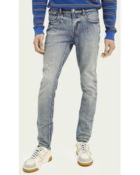 Scotch & Soda Skim Super Slim Fit Jeans - Showcase - Blauw