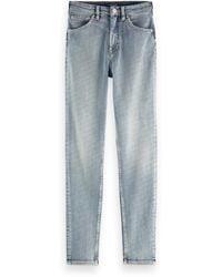 Scotch & Soda Haut High-rise Skinny Jeans - Showcase - Blue