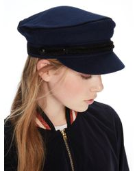 Scotch & Soda - Cotton Baker Boy Cap - Lyst