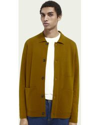 Scotch & Soda Knitted Worker Jacket - Multicolor