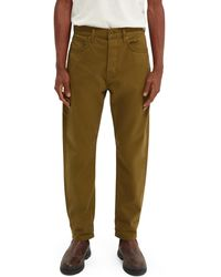 Scotch & Soda Dean Loose Tapered Jeans — Clean Green