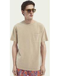 Scotch & Soda Relaxed Fit T-shirt - Bruin