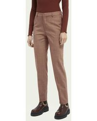 Scotch & Soda Lowry Slim Fit Pantalon - Sienna Melange - Roze