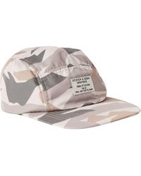 Lyst - True Religion Camouflage Cotton Watch Cap in Red for Men ee5c2d64395e