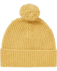 Scotch & Soda - Knitted Wool Beanie - Lyst