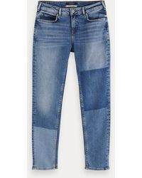 Scotch & Soda The Keeper - City Patchwork - Blauw