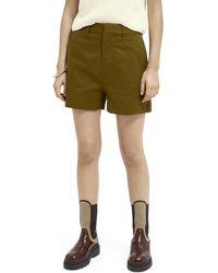 Scotch & Soda Abott Chino Shorts - Green