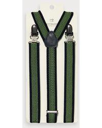 Scotch & Soda Elastische Bretels - Zwart