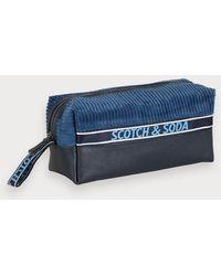 Scotch & Soda Toilettas - Blauw