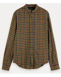 Scotch & Soda Lichtgewicht Geruit Overhemd - Meerkleurig