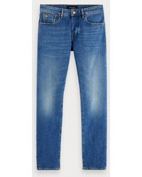 Scotch & Soda Ralston - Paris Sky - Blauw