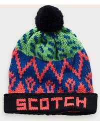 Scotch & Soda - Bonnet à motif - Lyst