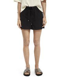 Scotch & Soda Clean jogger Shorts - Black