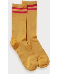 Scotch & Soda Sporty Striped Socks - Multicolor