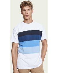 Scotch /& Soda Mens Classic Long Sleeve Jersey Tee T-Shirt