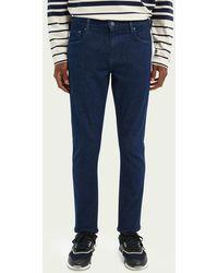 Scotch & Soda De Skim Cropped Skinny Jeans - Blauw