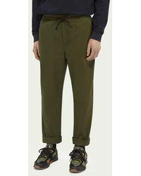 Scotch & Soda Pantalon jogger chino léger - Vert