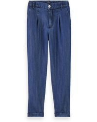 Scotch & Soda Drapey Tm Chino - Blue