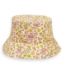 Scotch & Soda Printed Bucket Hat - Multicolour