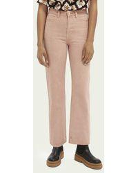 Scotch & Soda Straight-fit Jeans – Pastel Dyes - Roze