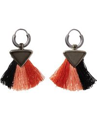 Scotch & Soda - Tassel Earrings - Lyst