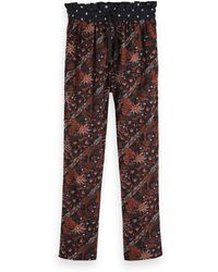 Scotch & Soda Cotton-blend Track Trousers - Black