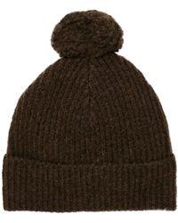 Scotch & Soda - Knitted Wool Beanie - Lyst