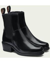 Scotch & Soda Sheila - Leren Chelsea Boots - Zwart