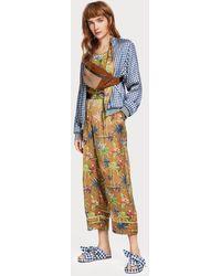 Scotch & Soda Printed Pajama Pants - Multicolor