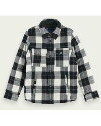 Scotch & Soda Veste-chemise réversible à carreaux - Vert