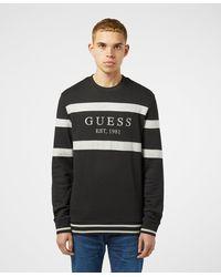 Guess Jack Crew Sweatshirt - Black