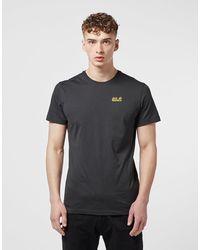 Jack Wolfskin Essential Short Sleeve T-shirt - Black