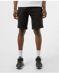 Armani Exchange Basic Fleece Shorts - Black